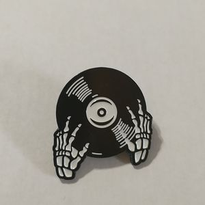 Dead Record Enamel Pin